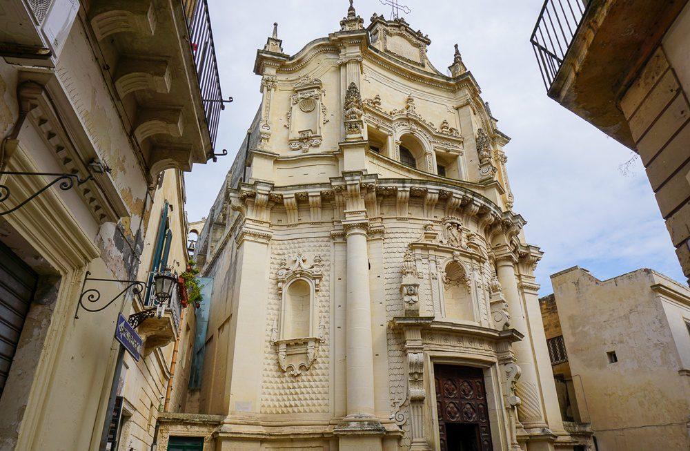 Lecce Italy Church