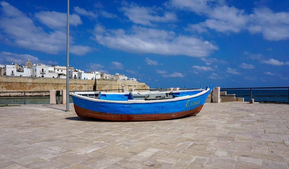 Monopoli Traditional Puglia boat