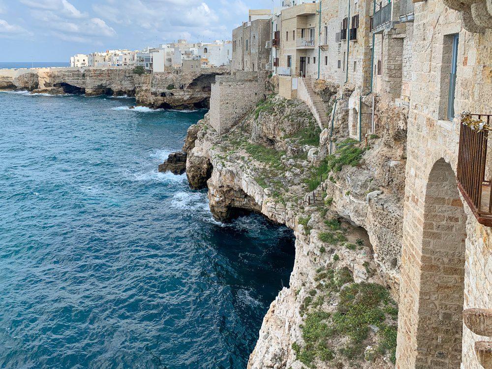 Polignano a Mare coastline
