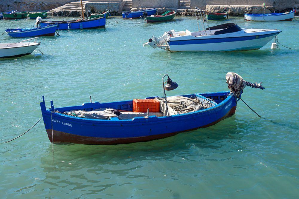 Polignano a Mare boat