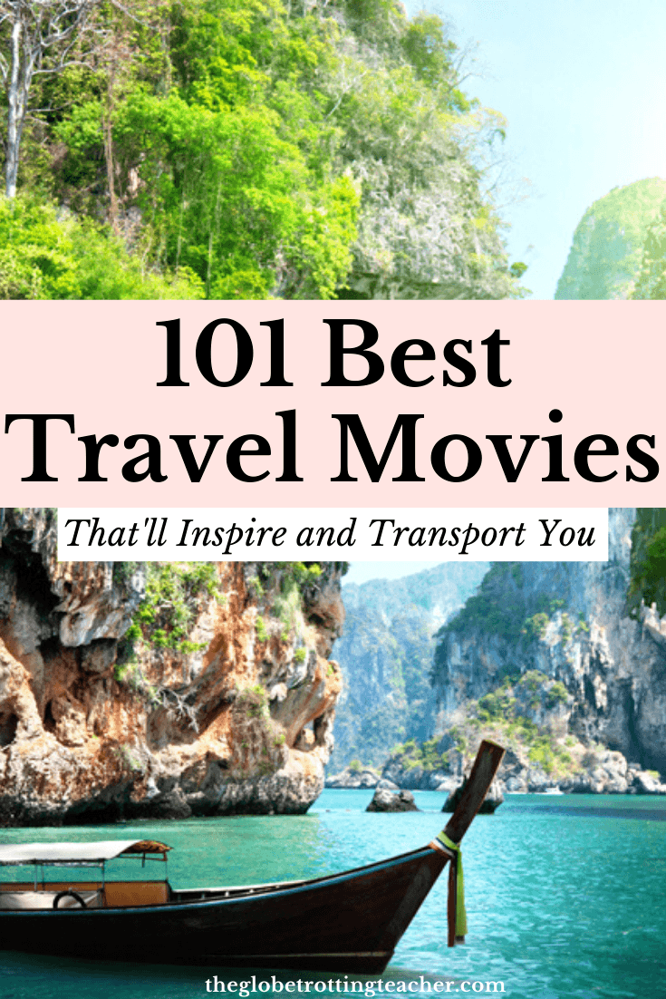 101 Best Travel Movies Pin