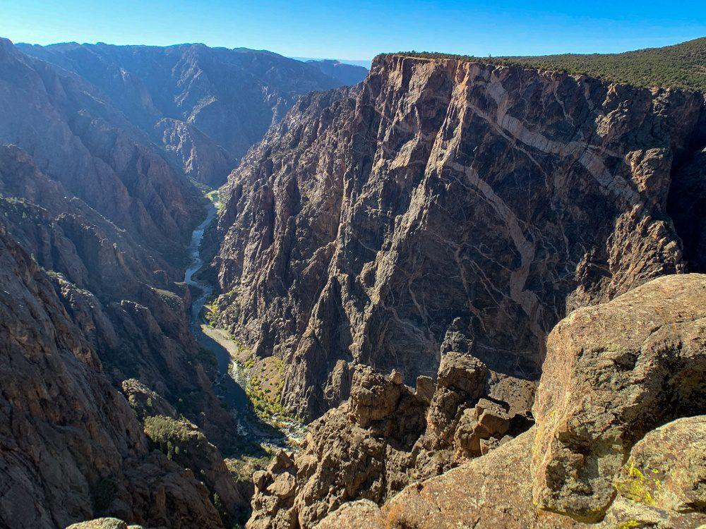 Black Canyon of the Gunnison park in Colorado