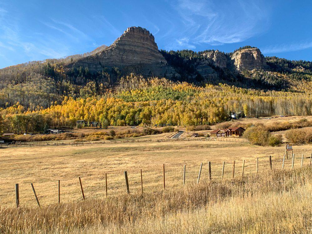 Colorado Road Trip on the way to Durango