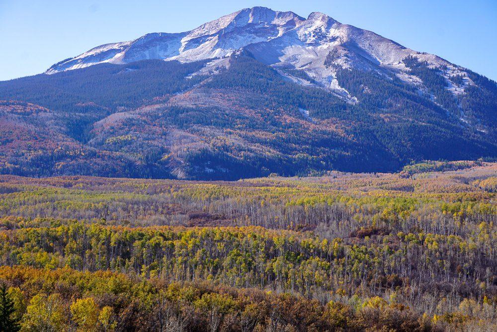 Colorado road trip Kebler Pass