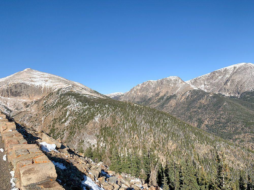 Trail Ridge Road View Rocky Mountain National Park Colorado