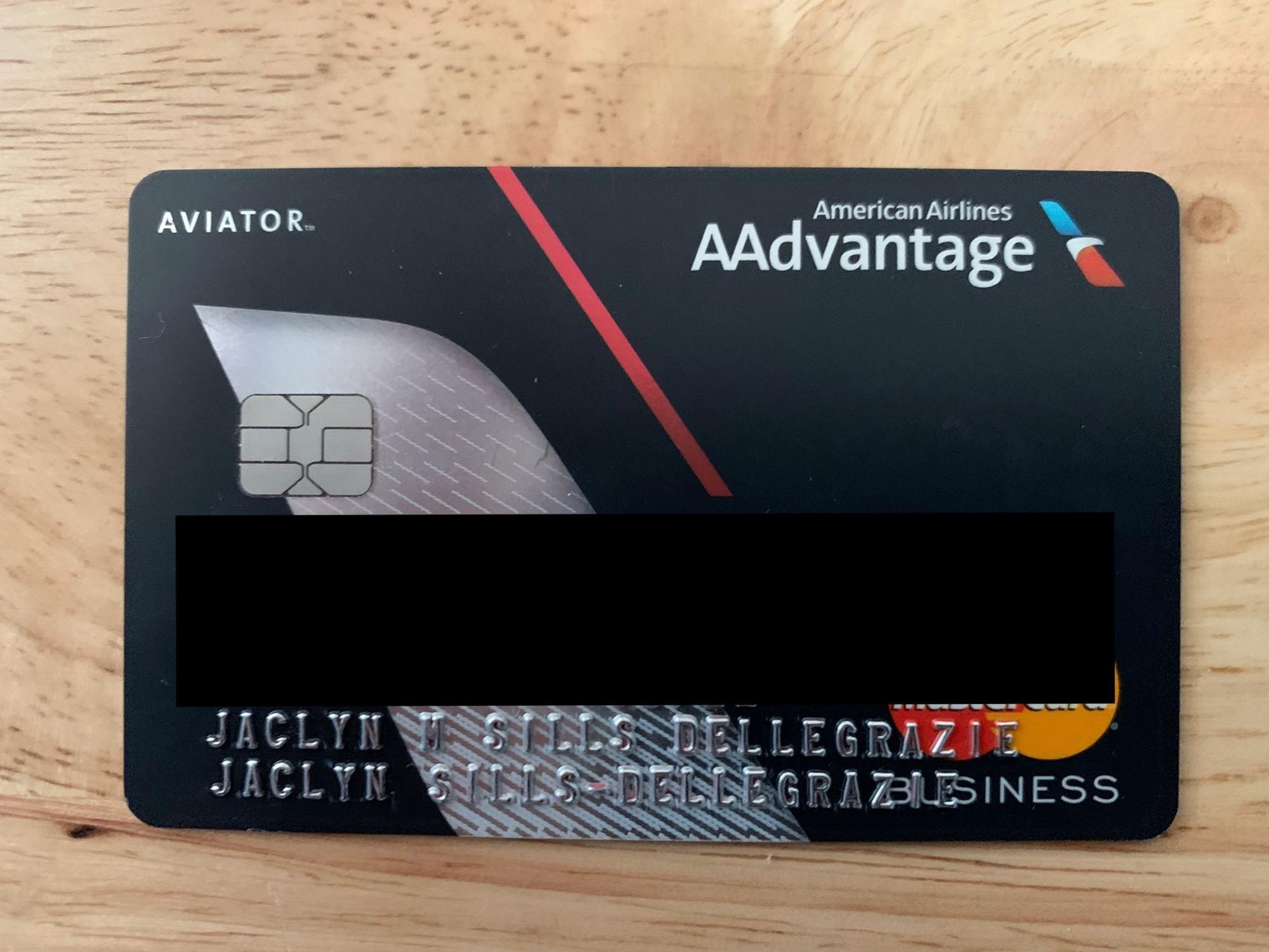 Barclays AA Card