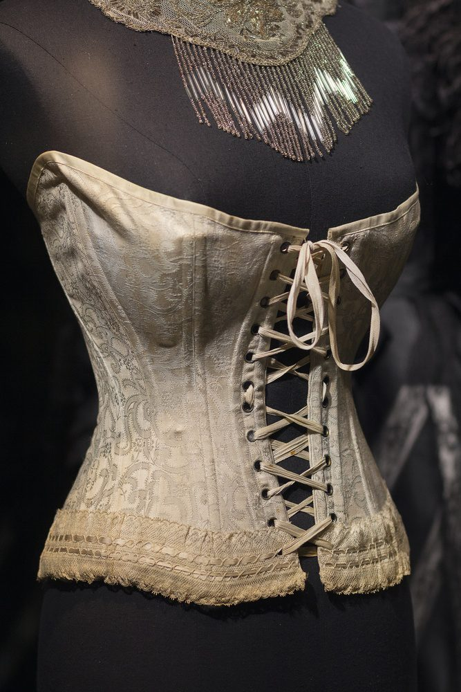 Mannequin with corset