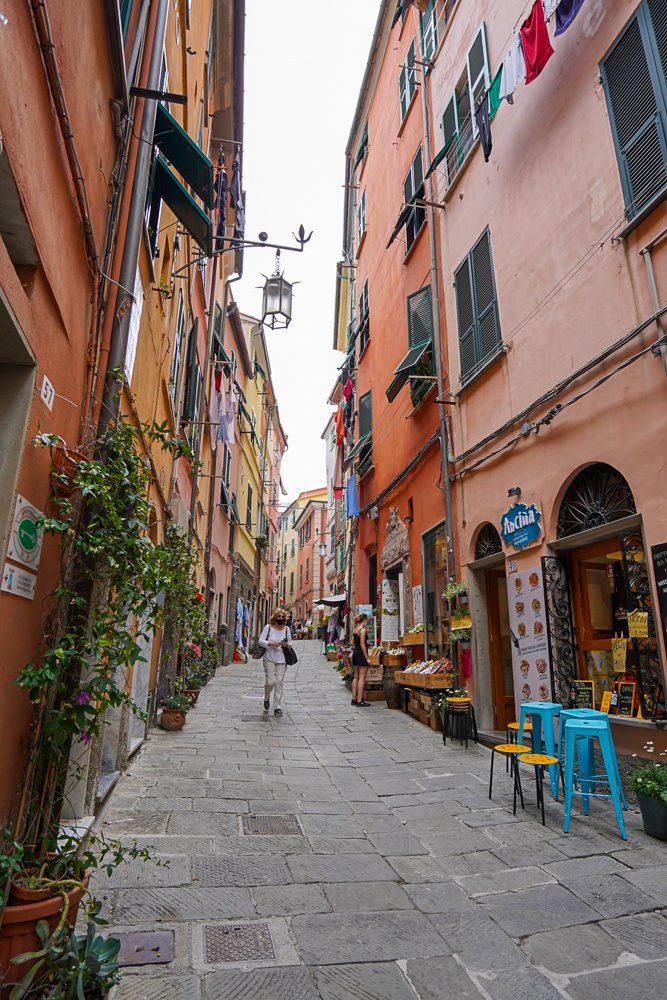 Via Capellini Portovenere Italy