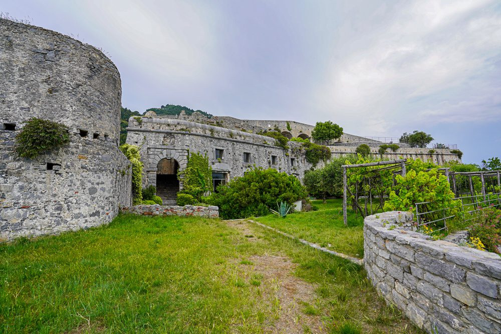 Doria Castel Portovenere Italy