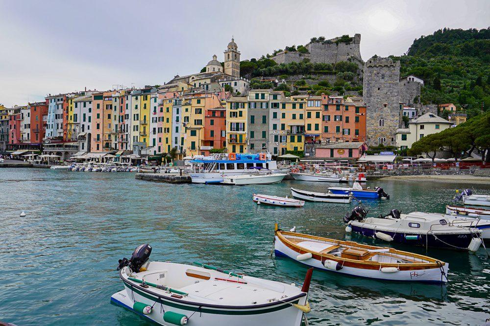Portovenere Italy Harbor